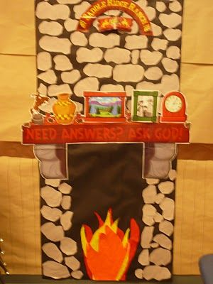 Making A Fireplace Out Of Construction Paper Craft Ideas
