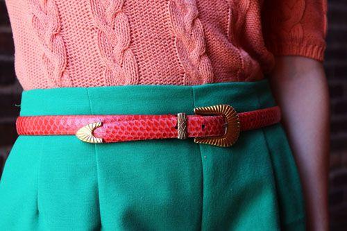 Audrey belt