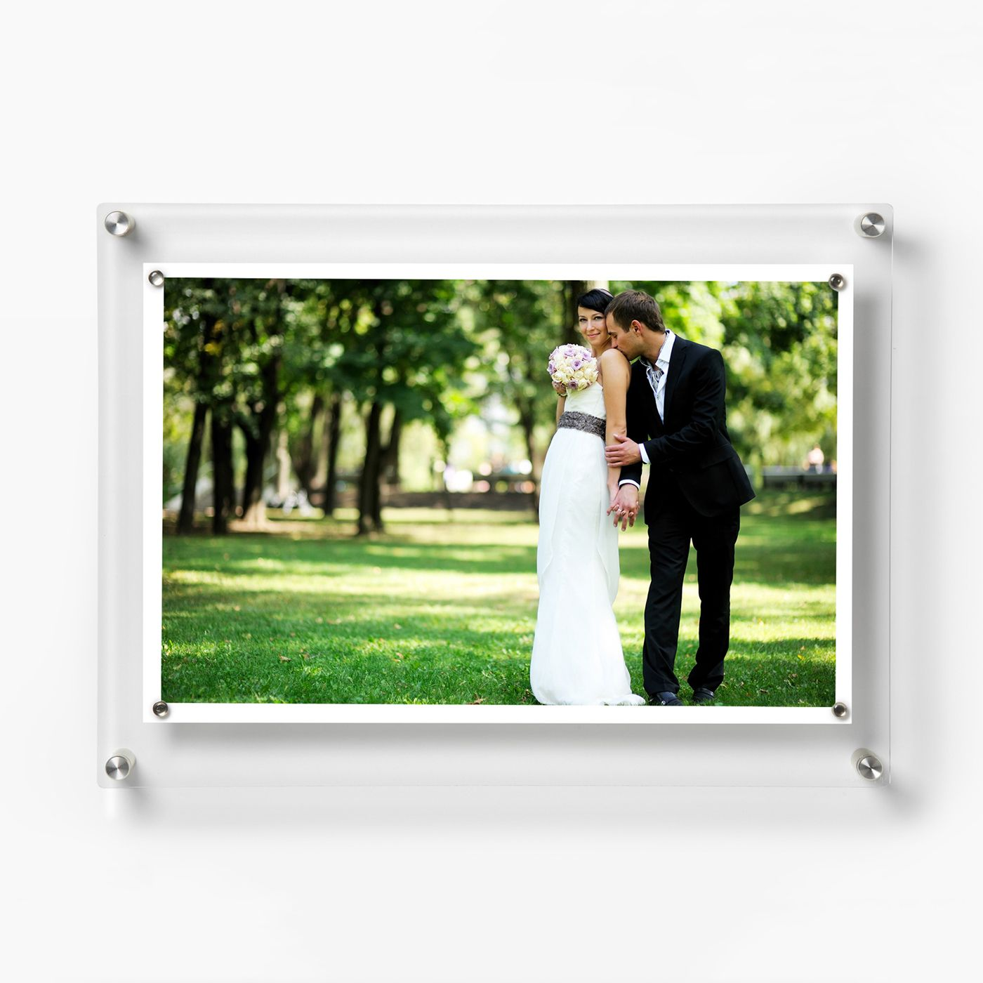 Shop Wexel Art 14 x 19-in Floating Acrylic Frame + Magnets for 11 x ...