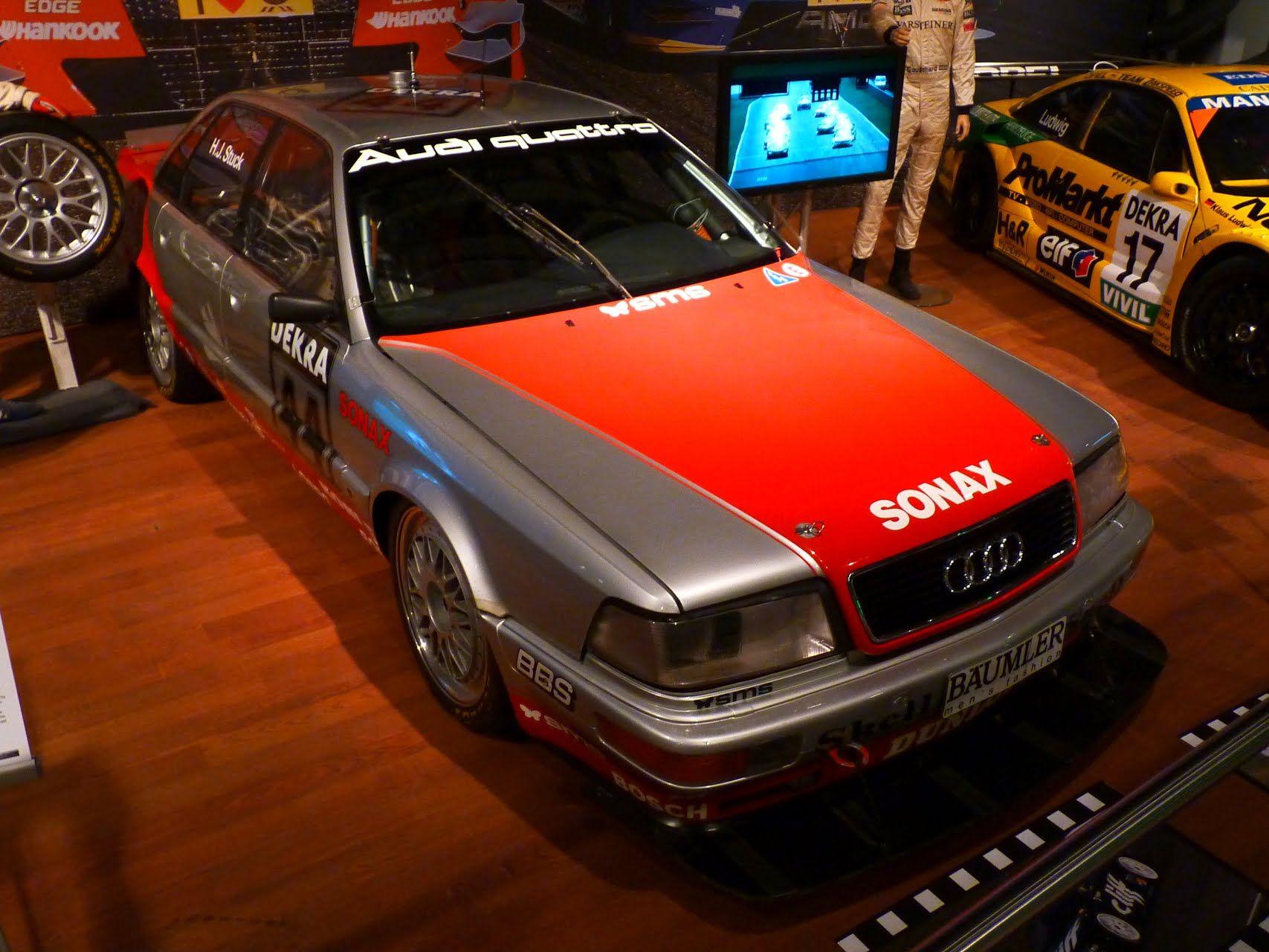 Audi V8 Quattro DTM 1992 Audi, Hot cars, Car wheels