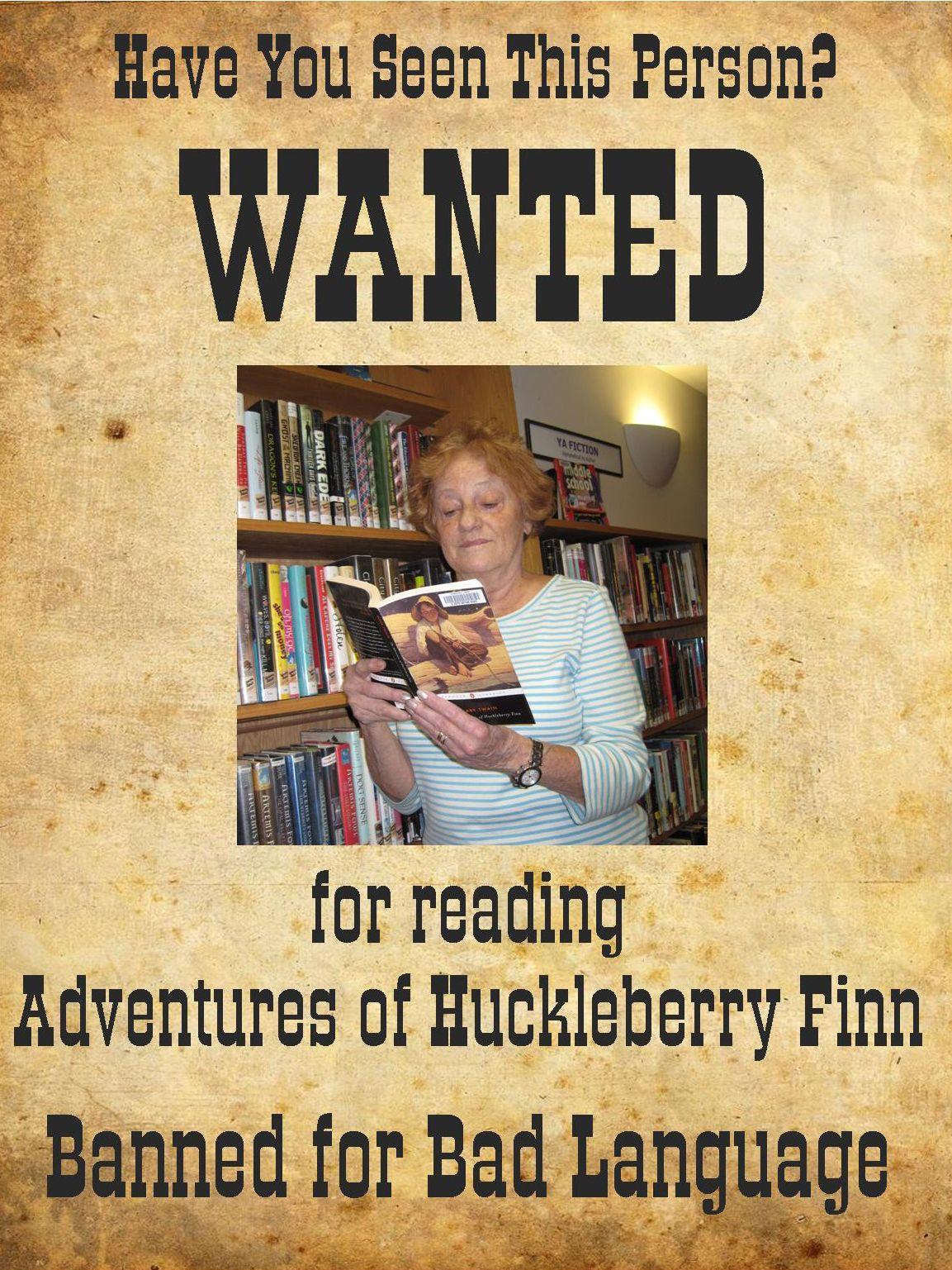 Adventures of huckleberry finn by mark twain banned