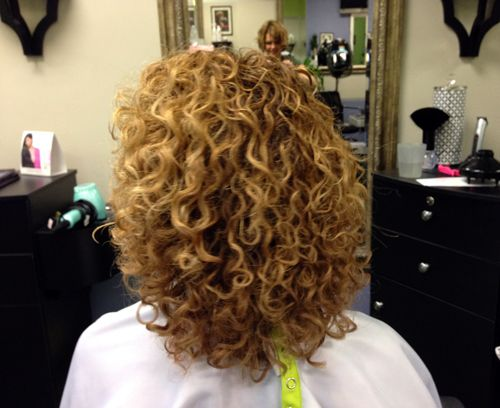 The Devacurl Haircut Before After And Tears Devacurl Haircut Curly Hair Styles Hair Styles