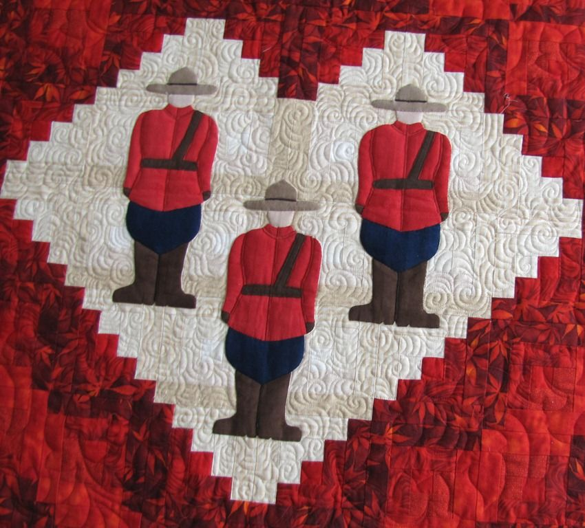 Proud to be Canadian Quilt   Patterns, Craft and Block craft : canada quilts - Adamdwight.com