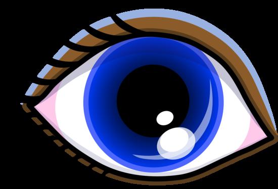 Pretty Blue Eye With Shadow Free Clip Art Eyes Clipart Cartoon Eyes Clip Art