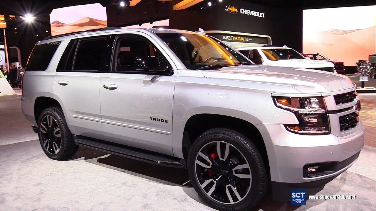 2019 Chevrolet Tahoe Premier Exterior And Interior Walkaround 2019 Detroit Auto Show In 2020 Chevrolet Tahoe New Sports Cars Tahoe