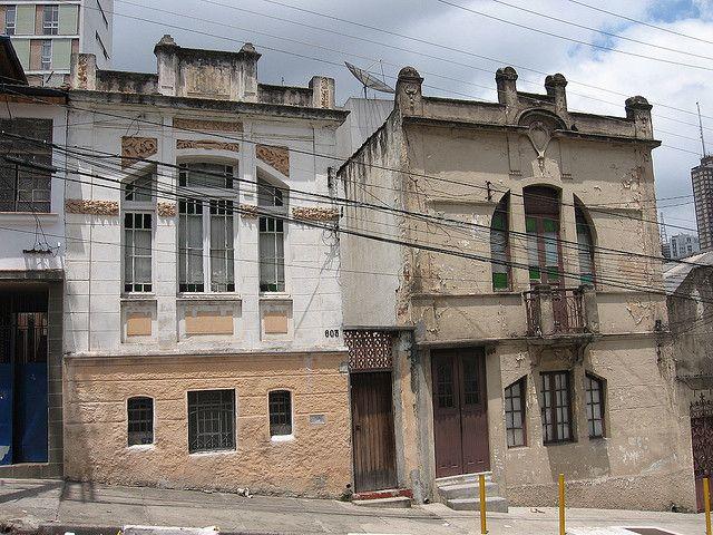 casas antigas - Bela Vista - São Paulo - estilo art nouveau - década de 20