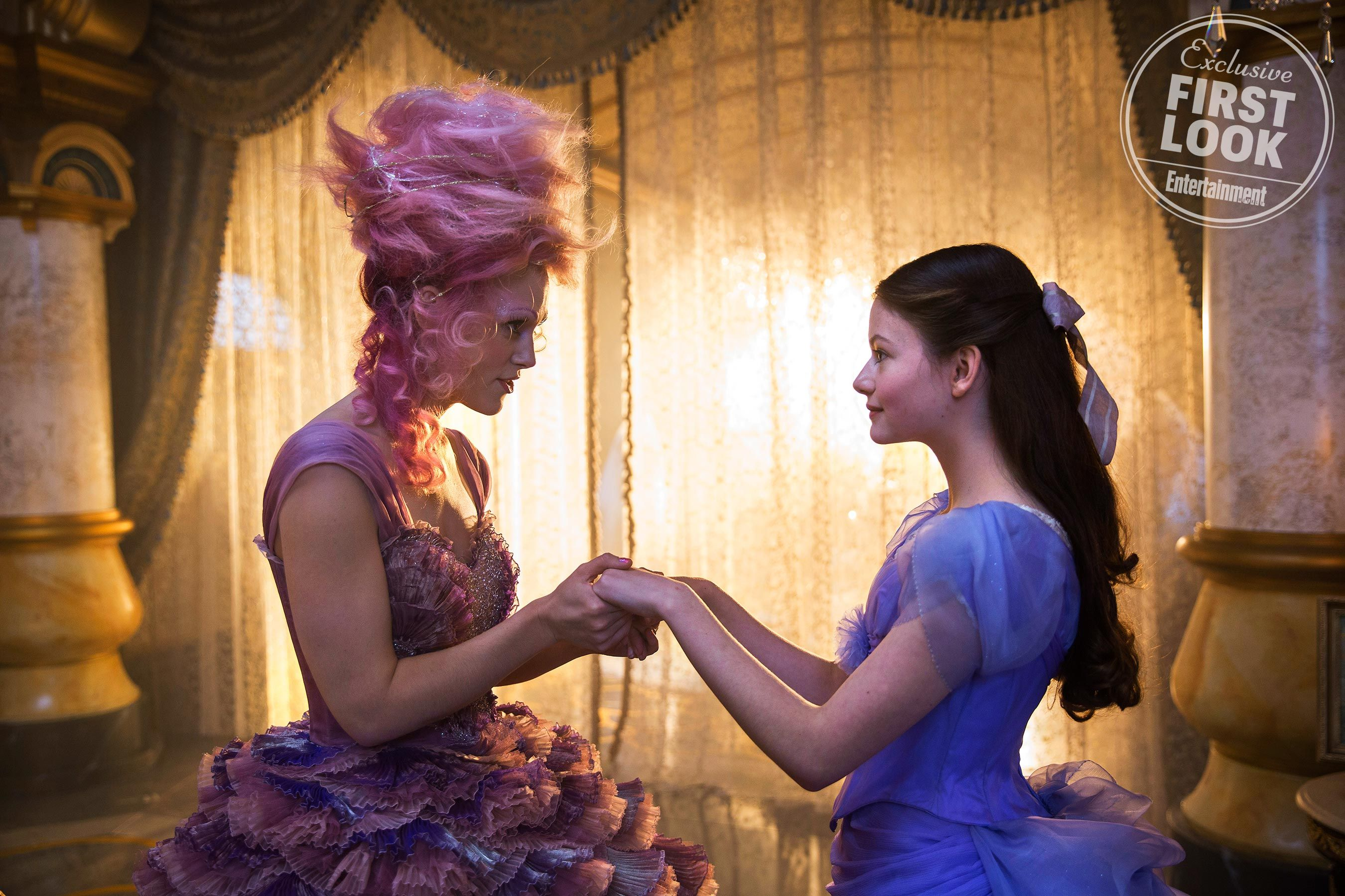 Keira Knightley is a pink Sugar Plum Fairy in 'The Nutcracker and the Four Realms' first look