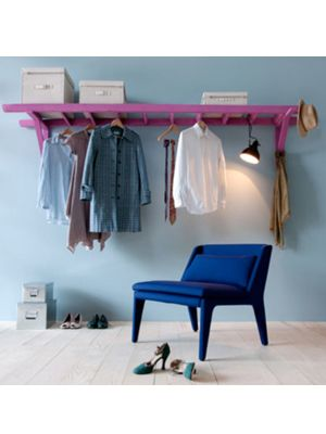 leiter garderobe do it yourself pinterest petit meuble porte manteaux et manteau. Black Bedroom Furniture Sets. Home Design Ideas