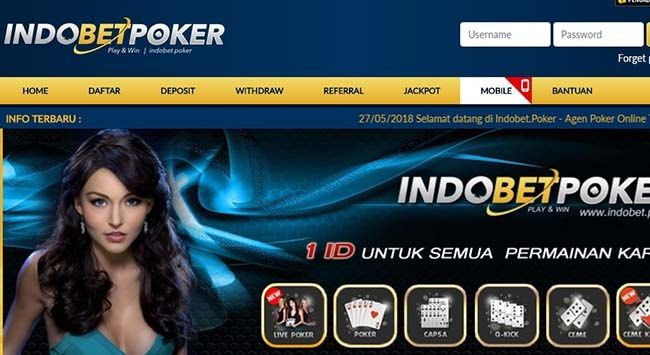 IndobetPoker Daftar Kumpulan Situs Poker Terpercaya