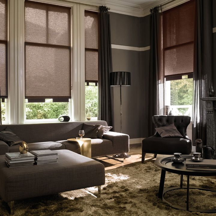 Room · These Luxaflex Roller Blinds Are So Beautifully Charming.