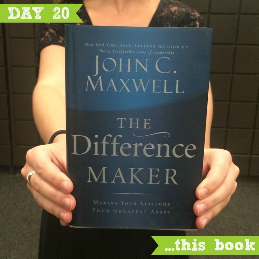 """Today we are grateful for this book . We LOVE  watching our leaders grow and this book is a great tool to help you along the way. """"Your attitude colors every aspect of your life. It is like the mind's paintbrush."""" - John Maxwell. #GratitudeAdventure"""