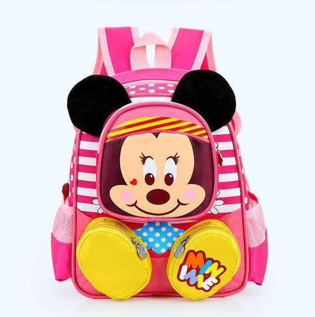 47acc5f0ea 2016 Hot Cartoon mickey children backpack kids kindergarten backpack kid  school bags Satchel