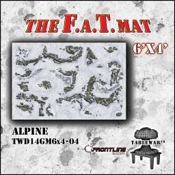 F A T Mat Alpine 6x4 Frontline Gaming Wargaming Table Mats Wargaming Mats
