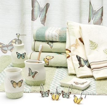 the eden park bath collection at kohls is perfect for butterfly lovers