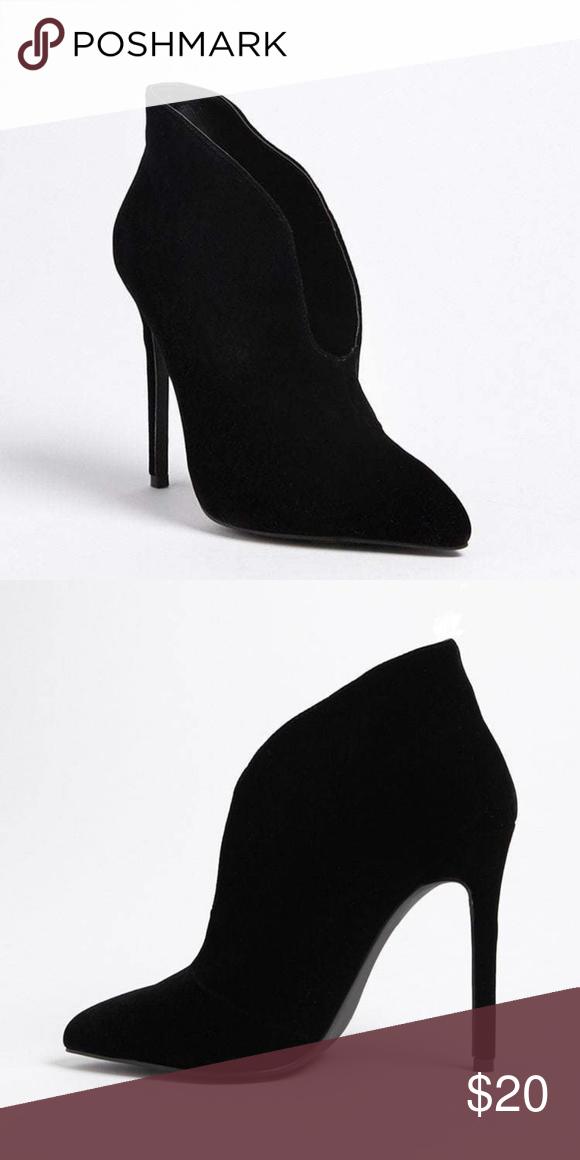 dda707aba4e NWT Forever 21 Size 6 Black Ankle Heel Boots Gorgeous high heeled ...