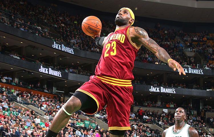 Cavs Wallpaper Lebron James Dunk Best Boston Celtics Player