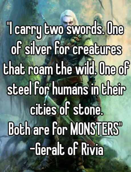 Favorite witcher quotes?