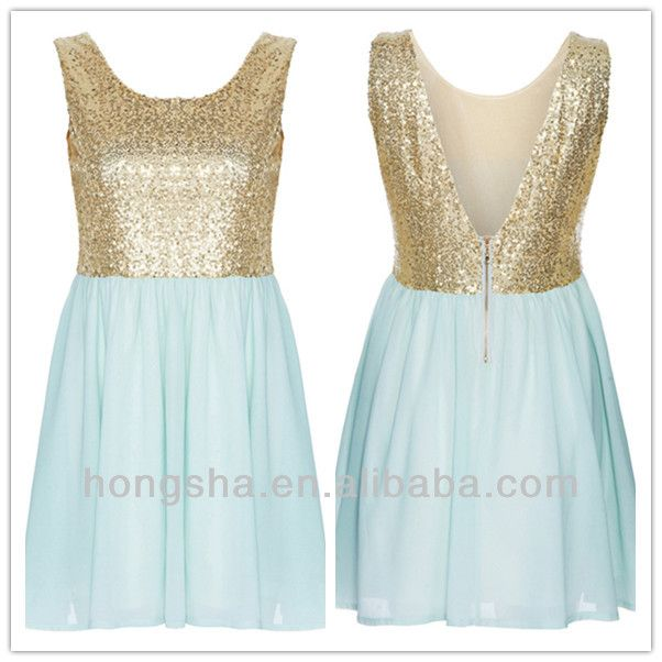 dresses at the factory connection  | francés 2013 conexión sin mangas vestido de lentejuelas para las ...