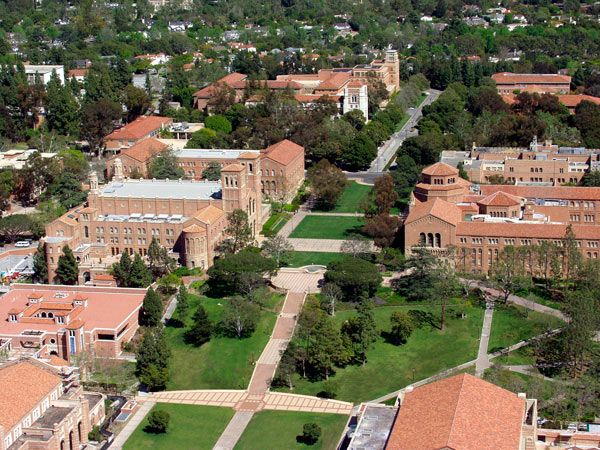 University Of California Los Angeles Ucla Campus University Of California Los Angeles University Of California