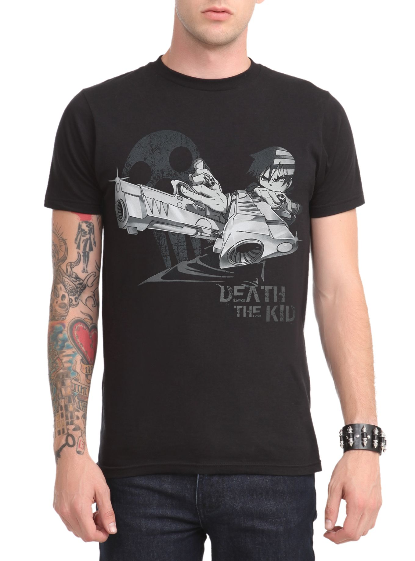 Soul Eater Death The Kid Slim-Fit T-Shirt