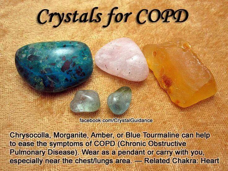 Ease COPD | Crystals | Crystals, Stones, crystals, Crystals