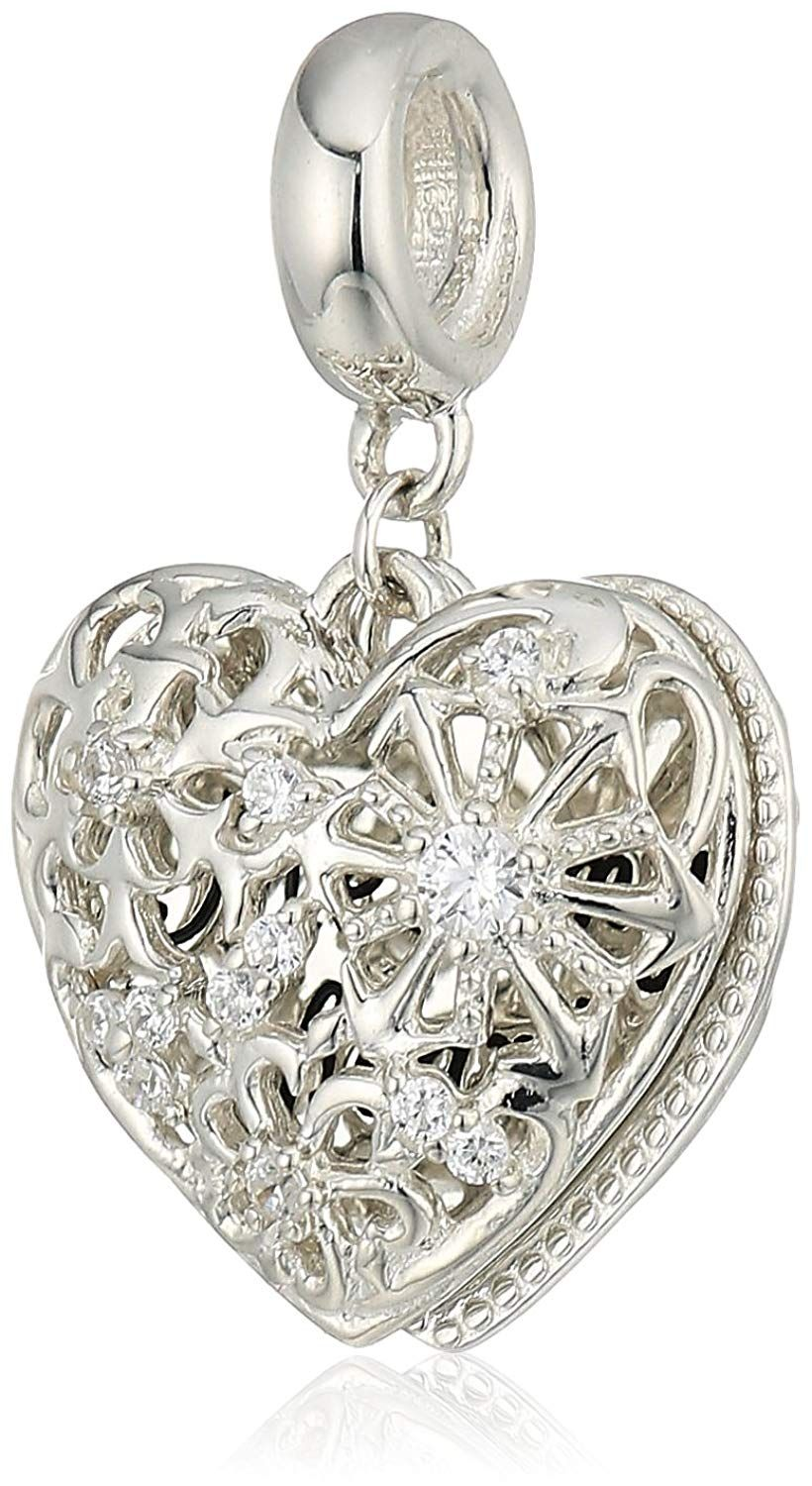 b3f60d4ce42 Chamilia Melt My Heart Locket - Swarovski Zirconia Charm Duo Charm -- Very  nice of you to drop by to visit our picture. (This is an affiliate link) #  ...