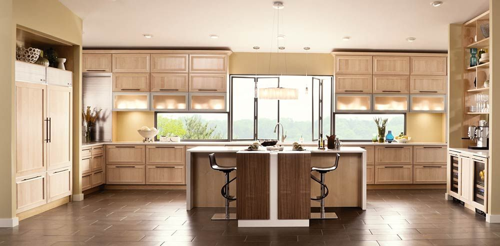 Best Kraftmaid Contemporary Kitchen Cabinets Outlet Natural 400 x 300