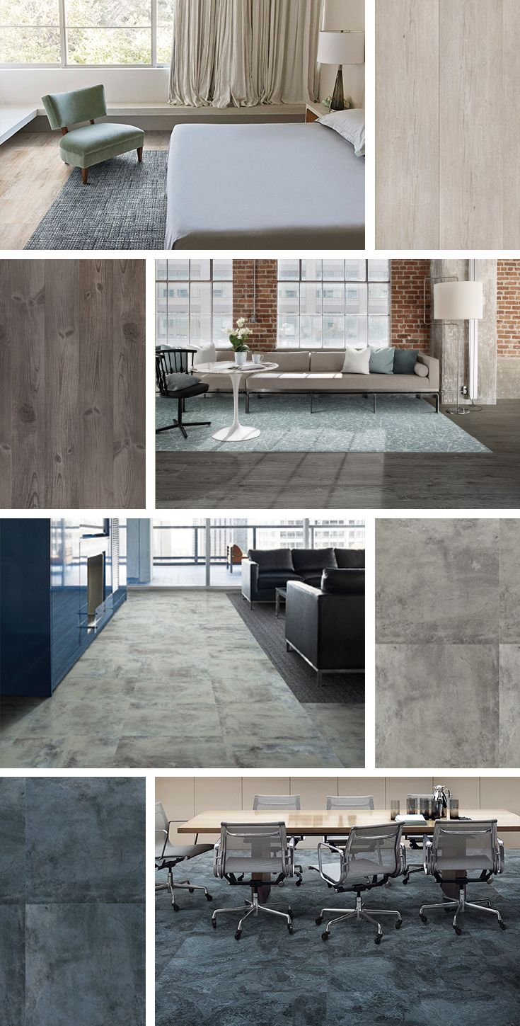 Get Harmonious Style In A Range Of Color Palettes Simply By Pairing Our All New Luxury Vinyl Tile With Our Modular C House Design Home Interior Design Projects