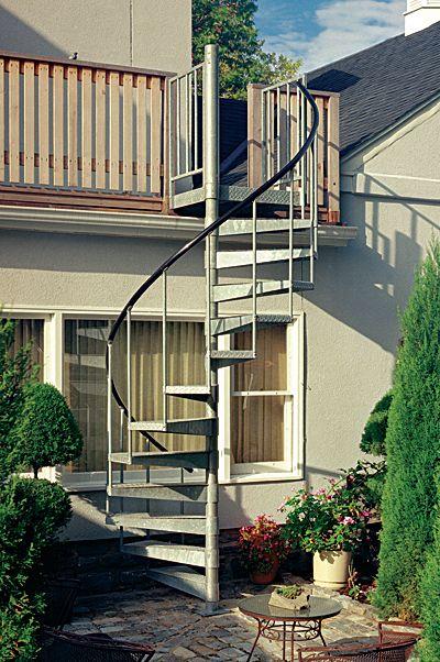 Best Outdoor Circular Stairway Exterior Stairs Spiral 400 x 300