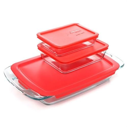 Rectangular Glass Roasting Dish Roaster Microwave Dishwasher and