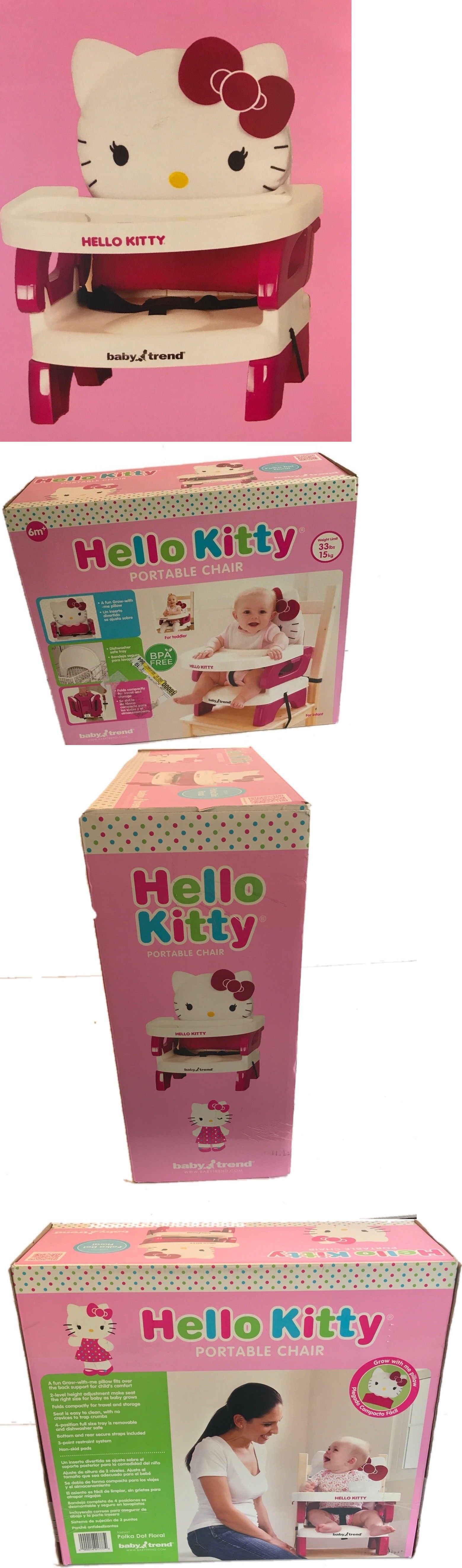Hello Kitty High Chair Office Qatar Living Portable Seat Booster Girls Pink Baby Trend Chairs 2986 Feed New Buy It Now Only 49 95 On Ebay