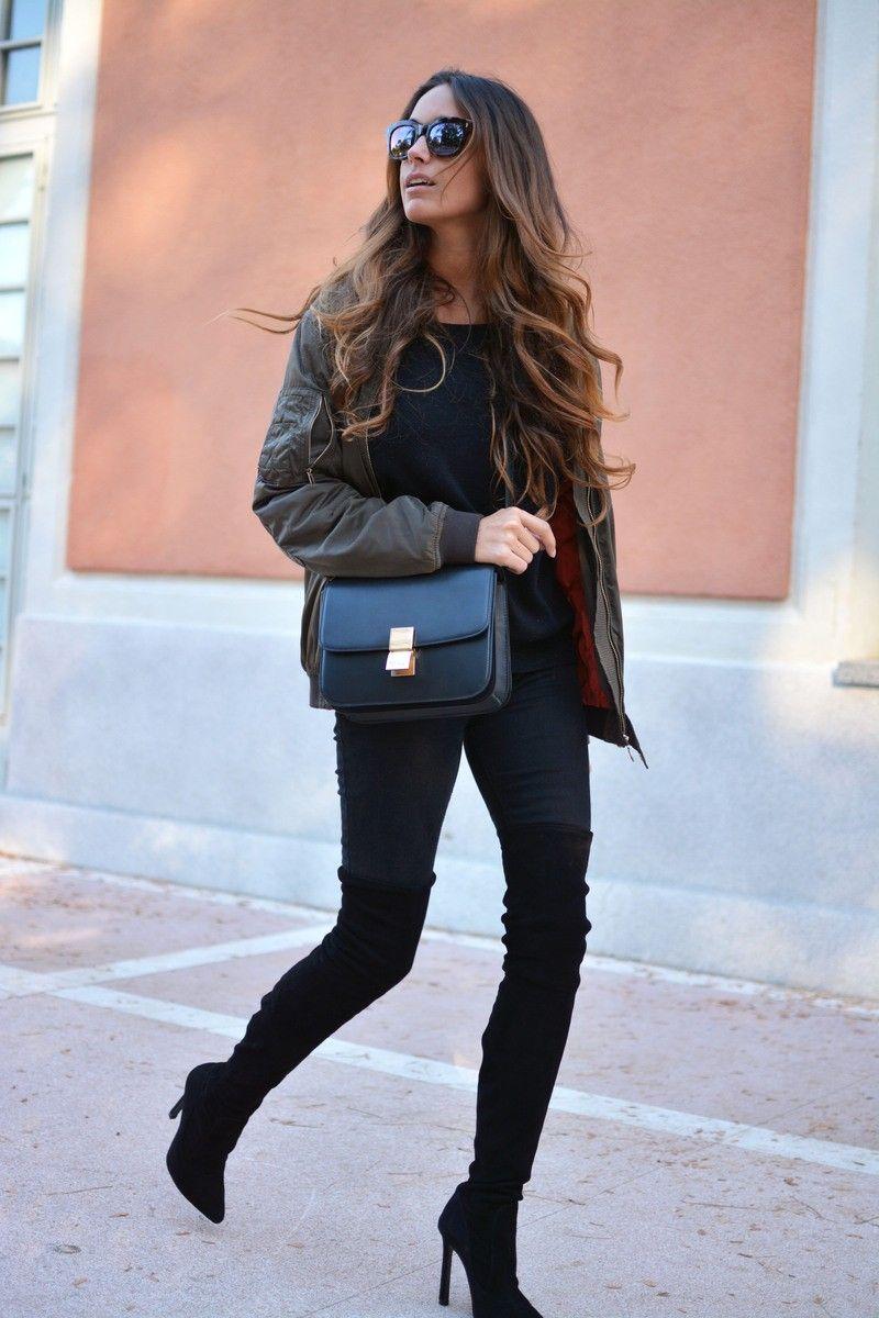 59b41e358 knee high boots (stellawantstodie) | My Fashion | Knee high boots ...