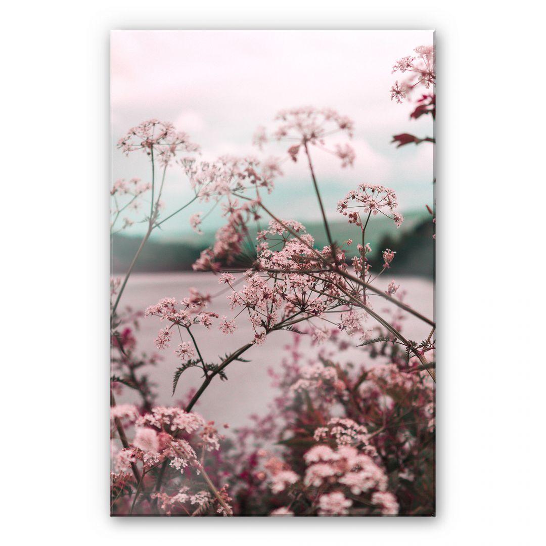 Acrylglasbild Pink Flower Dream 03 Wandbild Wanddeko Glasbild