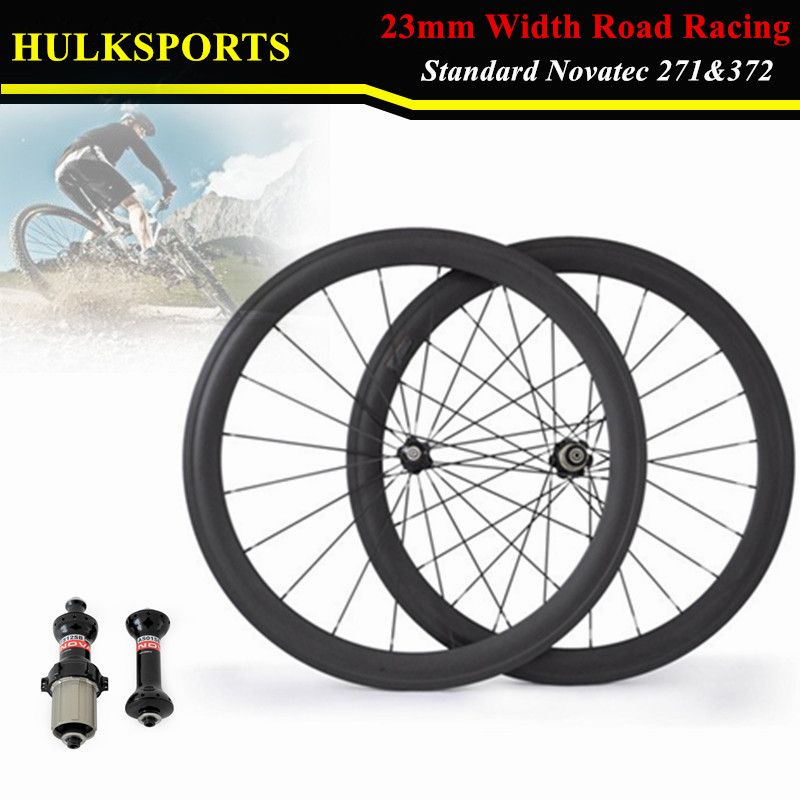 Single Wheel 700c Carbon Wheels 23mm Width 50mm Clincher With