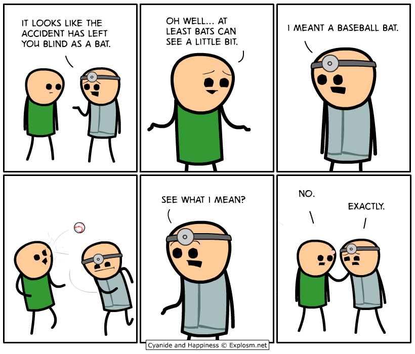 Cyanide comic strip excellent