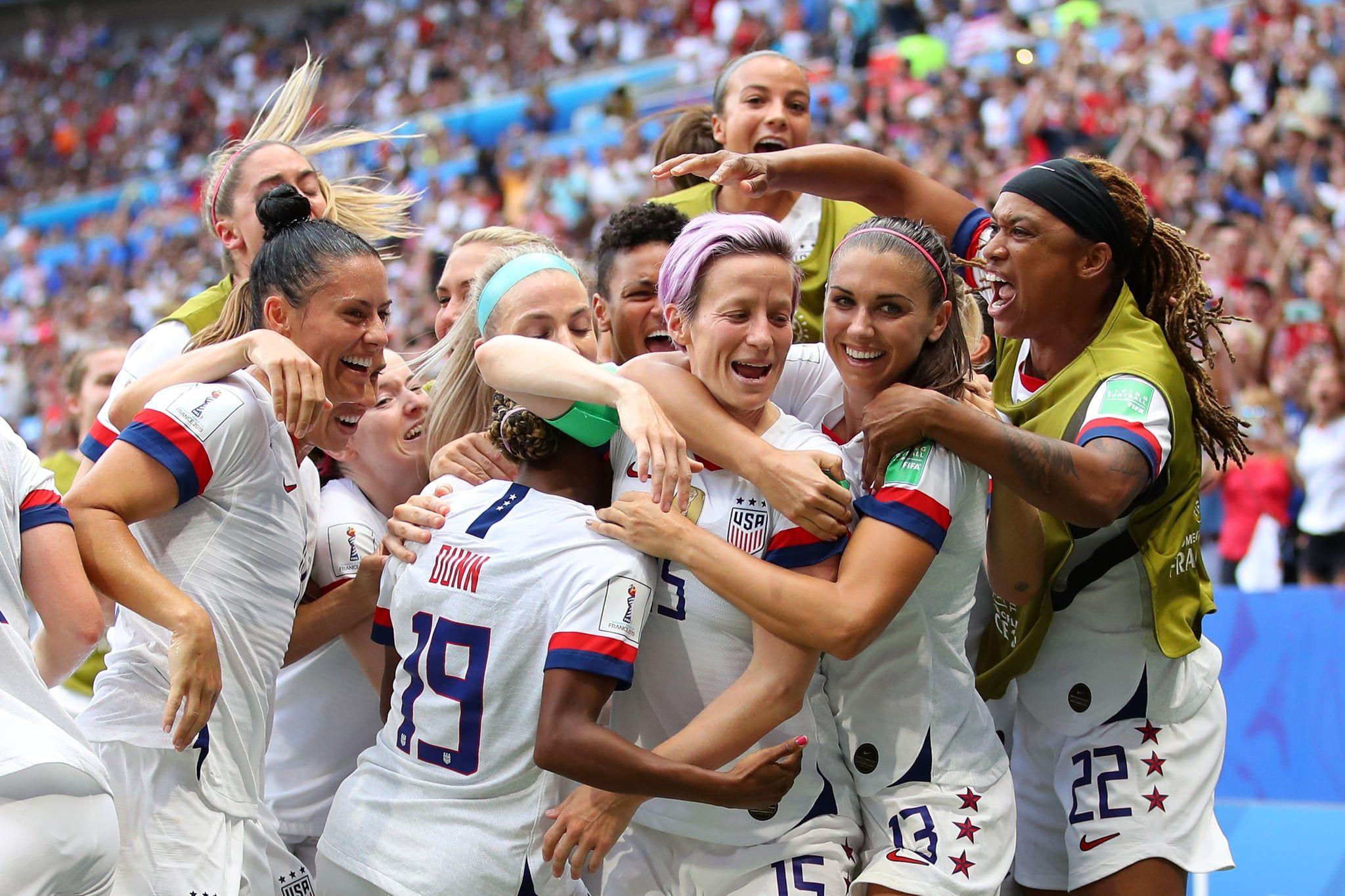 Bow Down To Your Queens The Dominant Uswnt Just Won Their 4th World Cup Fifa Women S World Cup Women S Soccer Uswnt