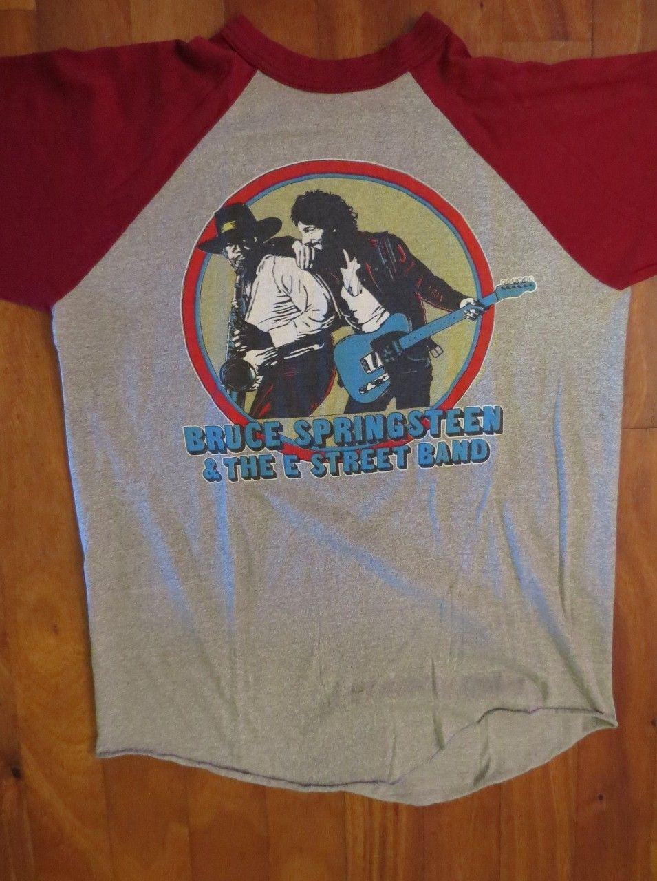 8508a20a Vintage 80's Original Bruce Springsteen and the E Street Band Concert Tour  80'-81' Jersey T-Shirt