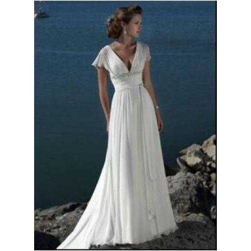 Vestidos de novia sencillos y casuales