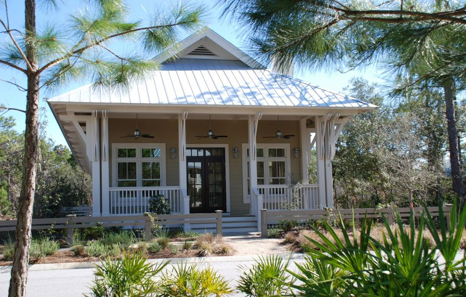 Florida architects watersound watercolor rosemary for Piani casa micro cottage