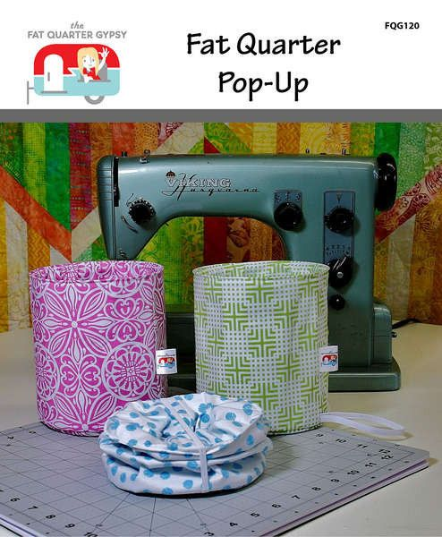Fat Quarter Pop Up Pattern And Wire Quilty Things Pinterest
