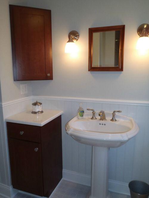 Half Baths And Powder Rooms