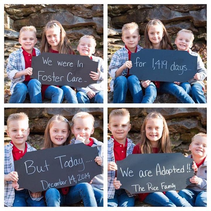 Photos Capture Joyful Faces of Kids on Adoption Day, After Years in Foster Care - My Modern Met