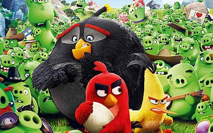 Review On The Cinematic Version Of Angry Birds Angry Birds Angry Birds Movie Angry Birds 2016