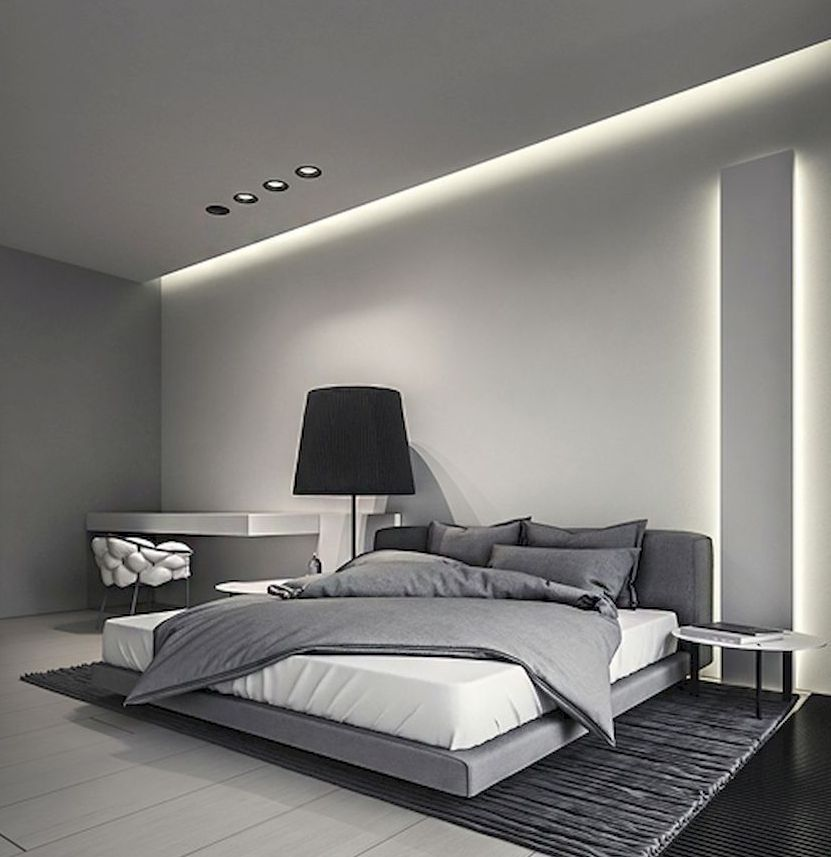 Adorable 90 Stunning Modern Master Bedroom Decor Ideas Https Roomadness Com 2018 04 02 90 Stunning Modern Master B Home Bedroom Bedroom Design Modern Bedroom