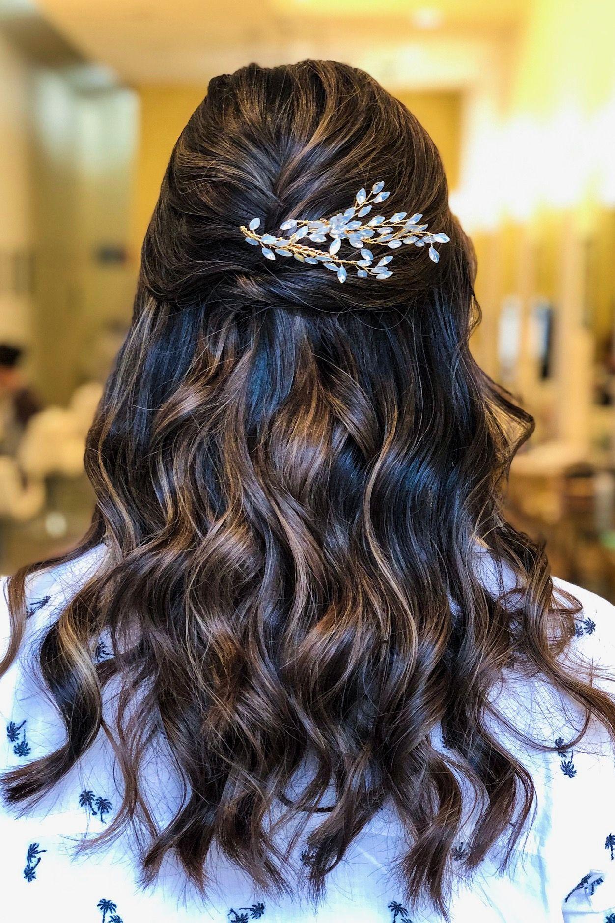 50+ Wedding hair vine hair down info
