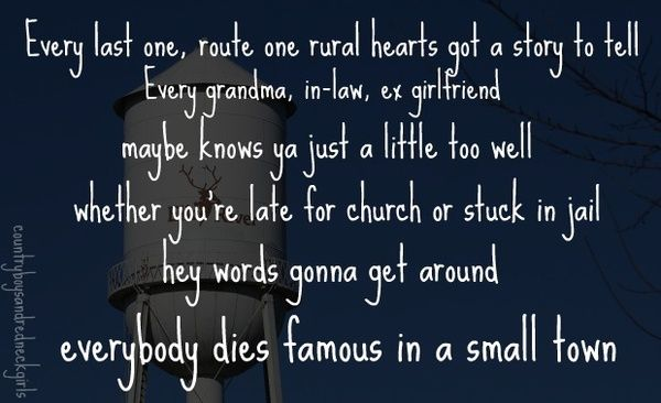 Miranda Lambert Famous In A Small Town Music Lyrics