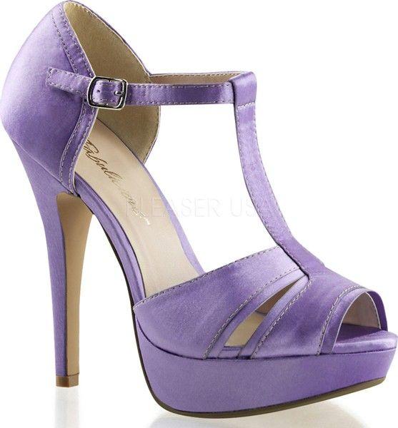 Pleaser - Lolita-20 Lavender Satin - Buy Online Australia Beserk ...