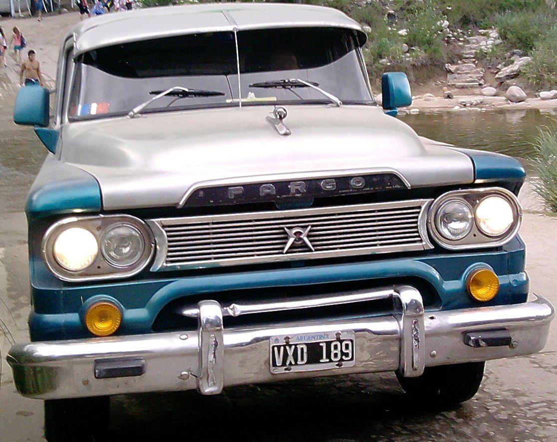 Dodge fargo 1960 pick up nica motor turbo diesel y caja hyundai http
