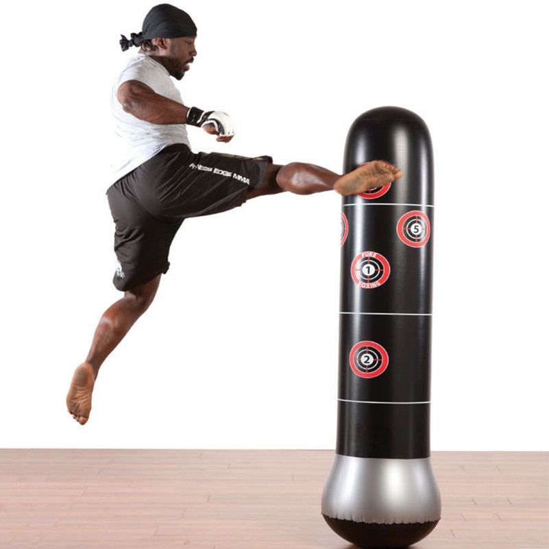 Freestanding Punching Bag Cardio MMA Boxing Training Punch Kicking Kickboxing