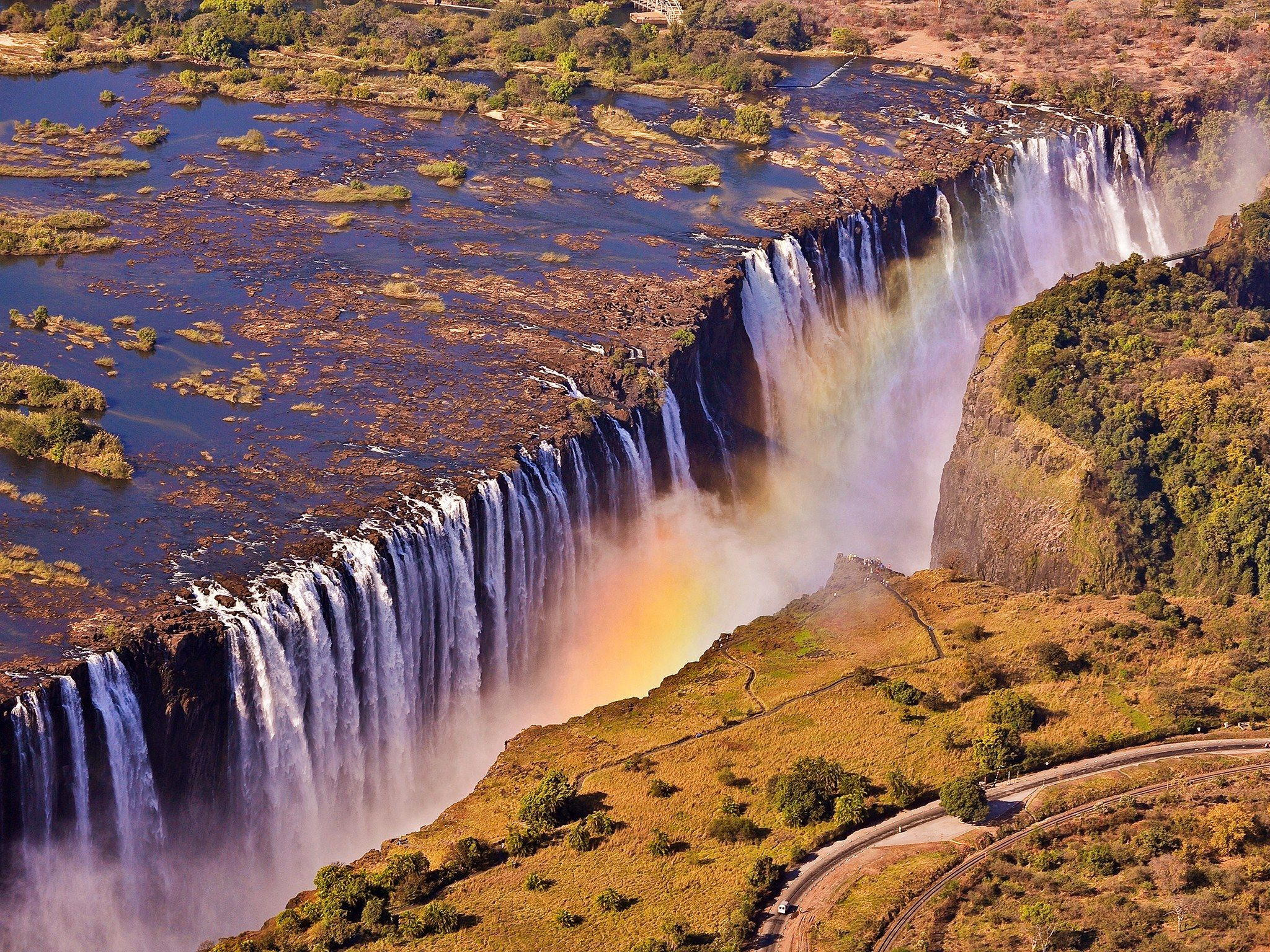 What S The Largest Waterfall In World